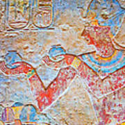 Color Hieroglyph Art Print