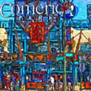 Color In Comerica Art Print