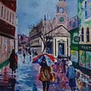 Color In The Rain Art Print