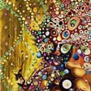 Color Intoxication Remix Art Print