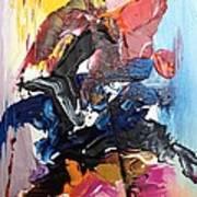 Color Jumble Art Print