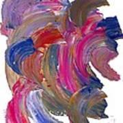 Color Mix 15 Art Print