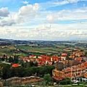 Color Of Tuscany Art Print