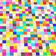 Color Quilt Art Print