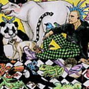 Color Scheme Art Print by Julie McDoniel