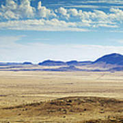 Color View Of West Texas Art Print