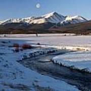 Colorado 14er Mt. Elbert Art Print
