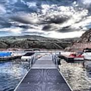 Colorado Boating Art Print