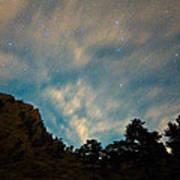 Colorado Canyon Star Gazing  Art Print