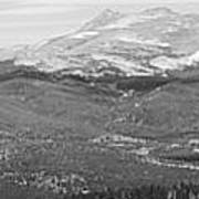 Colorado Continental Divide Panorama Hdr Bw Art Print