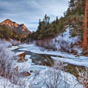 Colorado Creek Art Print by Darren  White