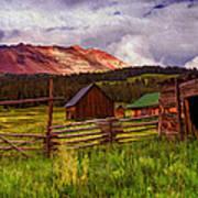 Colorado Dreamin' Art Print