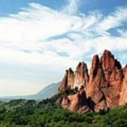 Colorado - Garden Of The Gods Art Print