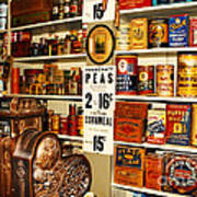 Colorado General Store Supplies Art Print
