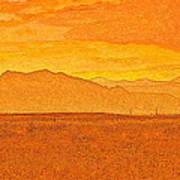 Colorado Heat Art Print