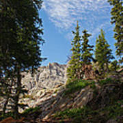Colorado Mountain Hike Print by Michael J Bauer