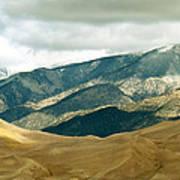 Colorado Mountain View Art Print