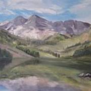 Colorado Reflections Art Print