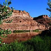 Colorado River At Moab Art Print