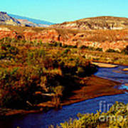 Colorado River Art Print by Eva Kato