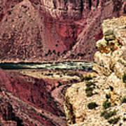 Colorado River. Grand Canyon Art Print