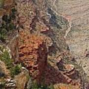 Colorado River In The Grand Canyon Art Print