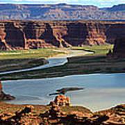 Colorado River Panoramic Art Print