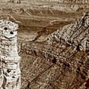 Colorado River View - Grand Canyon - Arizona Art Print