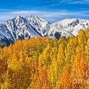 Colorado Rocky Mountain Autumn Beauty Art Print
