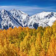 Colorado Rocky Mountain Autumn Magic Art Print