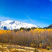 Colorado Rocky Mountain Independence Pass Autumn Pano 1 Art Print