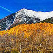 Colorado Rocky Mountain Independence Pass Autumn Panorama Art Print