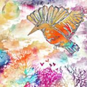 Colored Bird Art Print