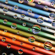 Colored Pencils Art Print