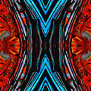 Colorful Abstract Art - Expanding Energy - By Sharon Cummings Art Print