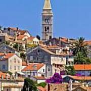 Colorful Adriatic Town Of Losinj Art Print