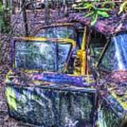 Colorful Antique Car 1 Art Print