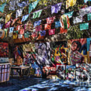 Colorful Art Store In Mexico Art Print