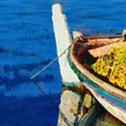 Colorful Boat Art Print