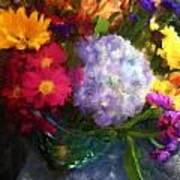Colorful Bouquet Art Print