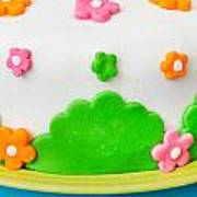 Colorful Cake Art Print