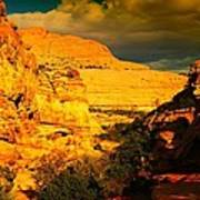 Colorful Capital Reef Art Print by Jeff Swan