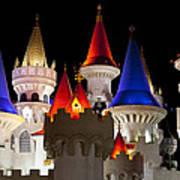 Colorful Castle Art Print