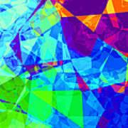 Colorful Chaos Art Print
