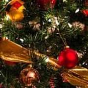 Colorful Christmas Ornaments  Art Print