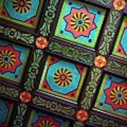 Colorful Church Ceiling Art Print