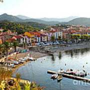 Colorful Collioure Art Print