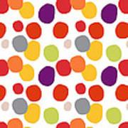 Colorful Confetti  Art Print