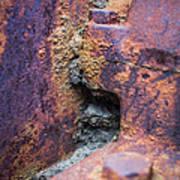 Colorful Corrosion 2 Art Print