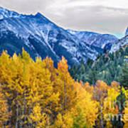 Colorful Crested Butte Colorado Art Print